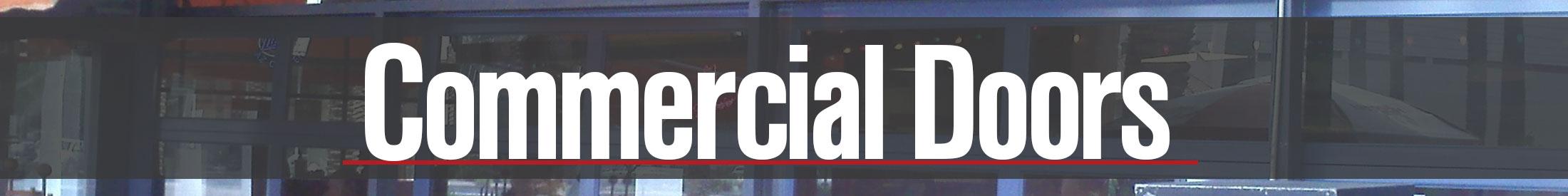 Commercial Garage Door Sales Repair And Installation In